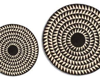 Miniature Printable Round Rug