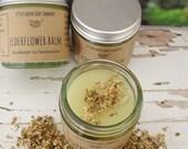 Elderflower Balm, Skin Softener, Soothing Salve, Natural Skincare