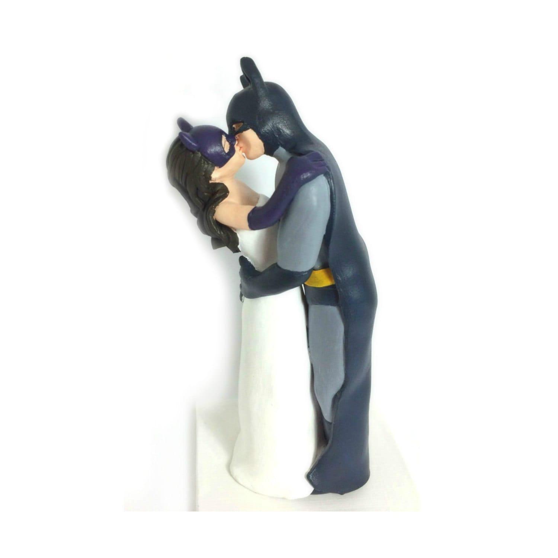 Superhero Custom Cake Topper Figures Wedding Cake Topper