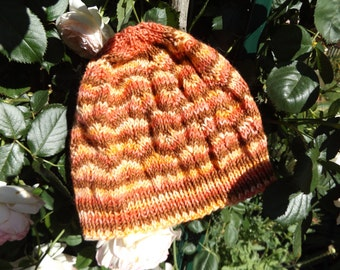 hat beanie hand knitted