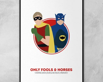 Only Fools and Horses | David Jason | Nicholas Lyndhurst | Minimal Artwork Poster