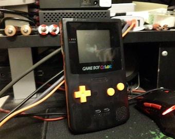 Clear-Orange / Smoke Custom Game Boy Color