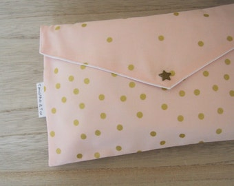 Pocket diaper, Collection Pink & Gold