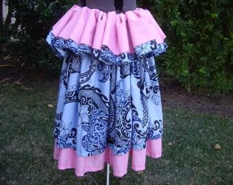 "Pa'u Hawaiian Hula Skirt ""Kailani"" design"