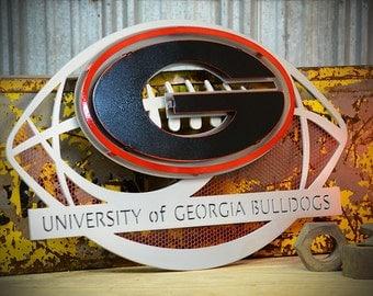 Georgia Bulldogs Football Wall Art