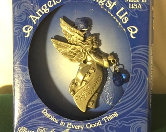 Angels Amongst Us Ornament by Gloria Duchin; Made in the USA; Deuteronomy 26:11