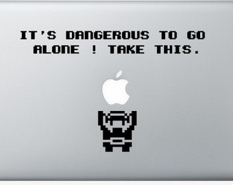 Sticker Macbook - Starting Zelda - Decal for MacBook Air Pro Retina - 11 12 13 15 or 17 inches - Skin for macbook easy to stick