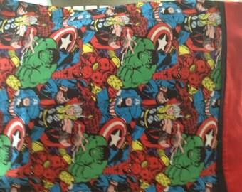 Marvel Super Hero pillowcase