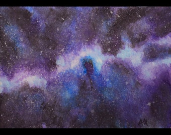 Beyond the Stars, limited edition ACEO print by Allison Muldoon/ChuckandStan