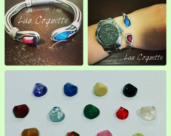 Zamak & resin Bangle