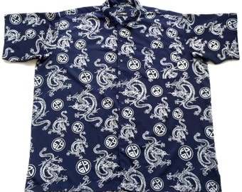 Flash Sale 90's Fubu Kimono Shirt Dress