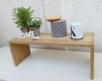 A coffee table, a small table, a chest side, side table