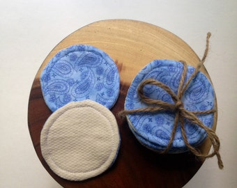 Reusable Cotton Rounds, Washable Make-up Removers, Cotton Facial Rounds, Reusable Cotton Pads, Reusable Facial Pads