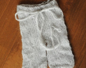 Mohair Newborn Pants Photography Prop Hand Dyed
