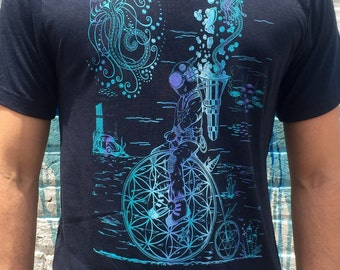 Spirit Science And Metaphysics Unified Organic Bamboo Tee m39FU