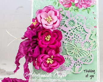 Handmade Thinking of You Greeting Card