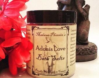 Adonis Love Sensual Bath Salts