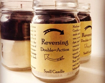 Double Action Reversing Spell Candle
