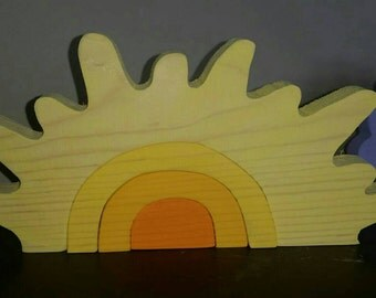 Sun stacker, sun stacker puzzle, stacker, puzzle stacker