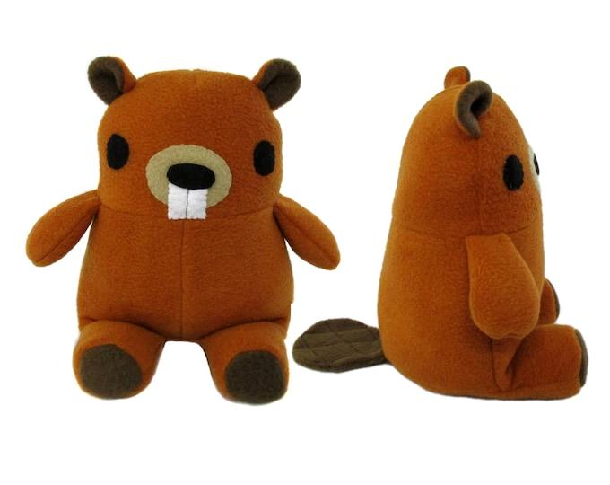 Beaver Stuffed Toy Pattern