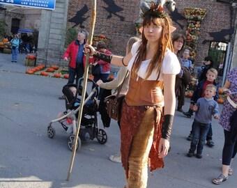 Costume complete fauna.