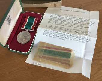 Womens Royal Voluntary Service Long Service Medal