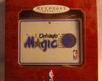1997 Hallmark Keepsake Christmas Ornament Basketball Orlando Magic NBA Collection New