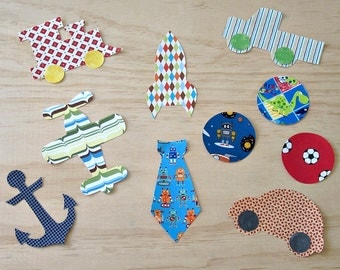 Boys appliques. No sew appliques. 10 iron on appliques. Iron on motifs. Boys vehicle iron on appliques. Iron on patch. Baby shower ideas