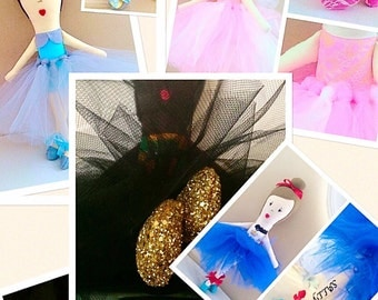 Small Custom Rag Doll Orders/Clarkedoll/Plushies/Stuffed Animals