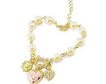 Bracelet chain heart