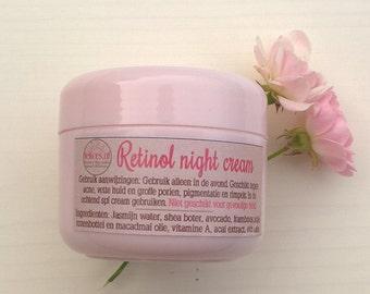Retinol (vitamin A) night cream