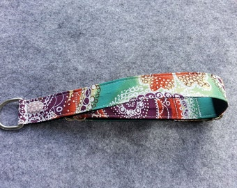 Martingale Dog Collar, teal, orange, violet, white
