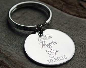 Holy Confirmation Personalized Key Chain - Engraved