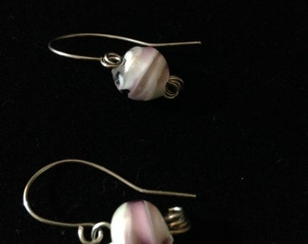 Lampwork Glass and stainless steel, custom