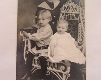 Vintage Photo Postcard - 1918
