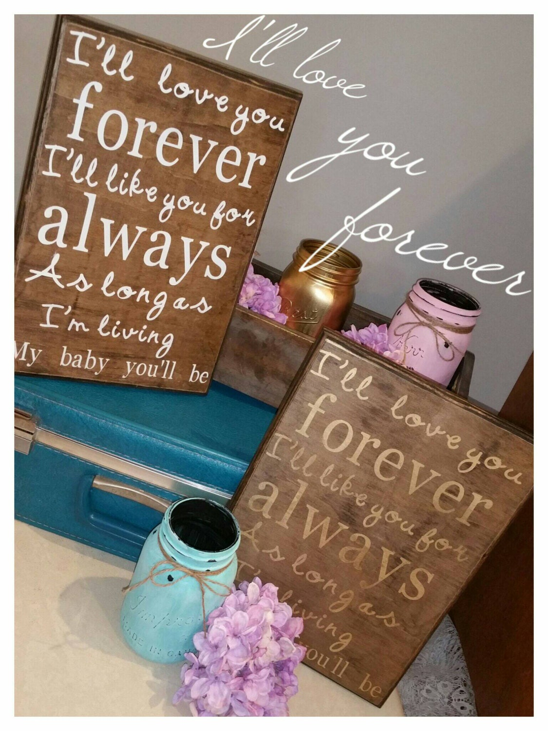 I'll love you forever story quote children book by ...