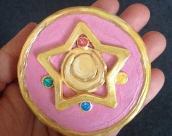Sailor Moon Brooch Powder