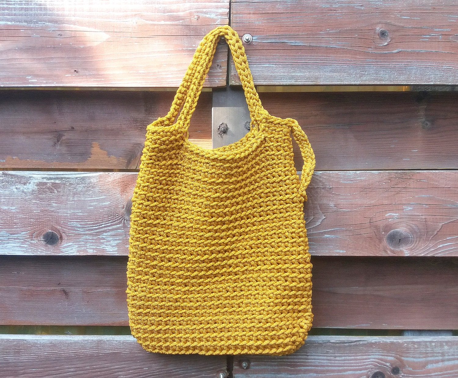 Knitting Rope For Sale : Mustard bags knitted pouch handmade cord bag crochet