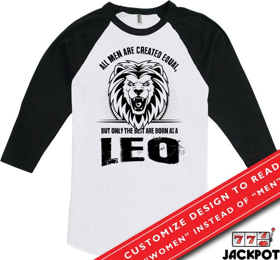 Leo Shirt Gifts For Birthday Zodiac Sign Shirt All Men Are