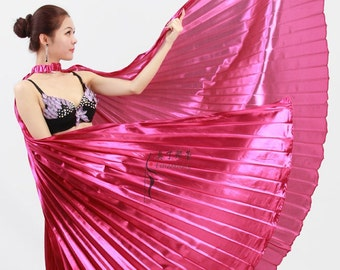 Isis Wings close back, Egyptian Belly Dance Costume, Free shipping to USA.
