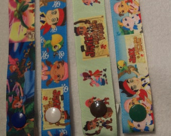 Mix and Match The Neverland Pirates and Peter Pan Inspired ABDL Pacifier Clips