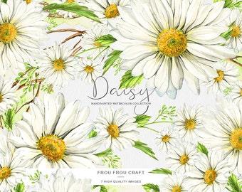 Daisy clipart | Etsy