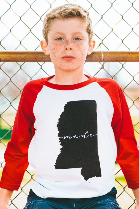 Items similar to Mississippi Made 3 4 Sleeve American