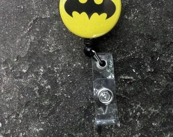 Batman Retractable Badge Holder