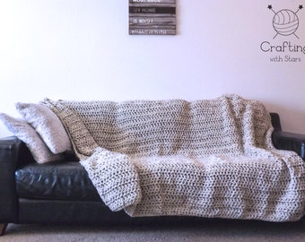 Chunky Crochet Blanket - Made to Order
