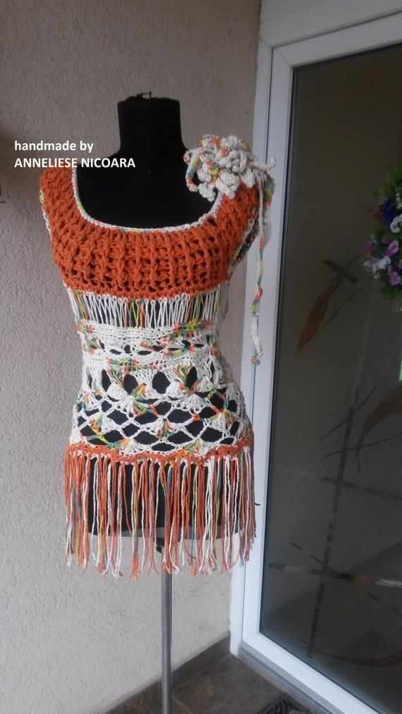 Freeform Crochet Blouse 118