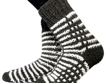 Warm socks for adults 23-25.5 cm length of the foot 9-10 inch