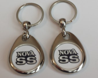 Chevy Nova Keychain 2 pack double sided