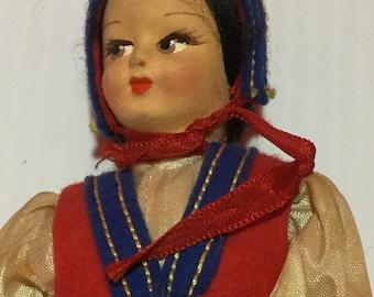 Italian Lenci Doll c1940