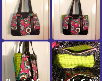 Harriet Expandable Tote - *Ready to be shipped*
